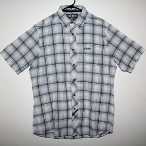 Ecko Unltd Plaid Button Down